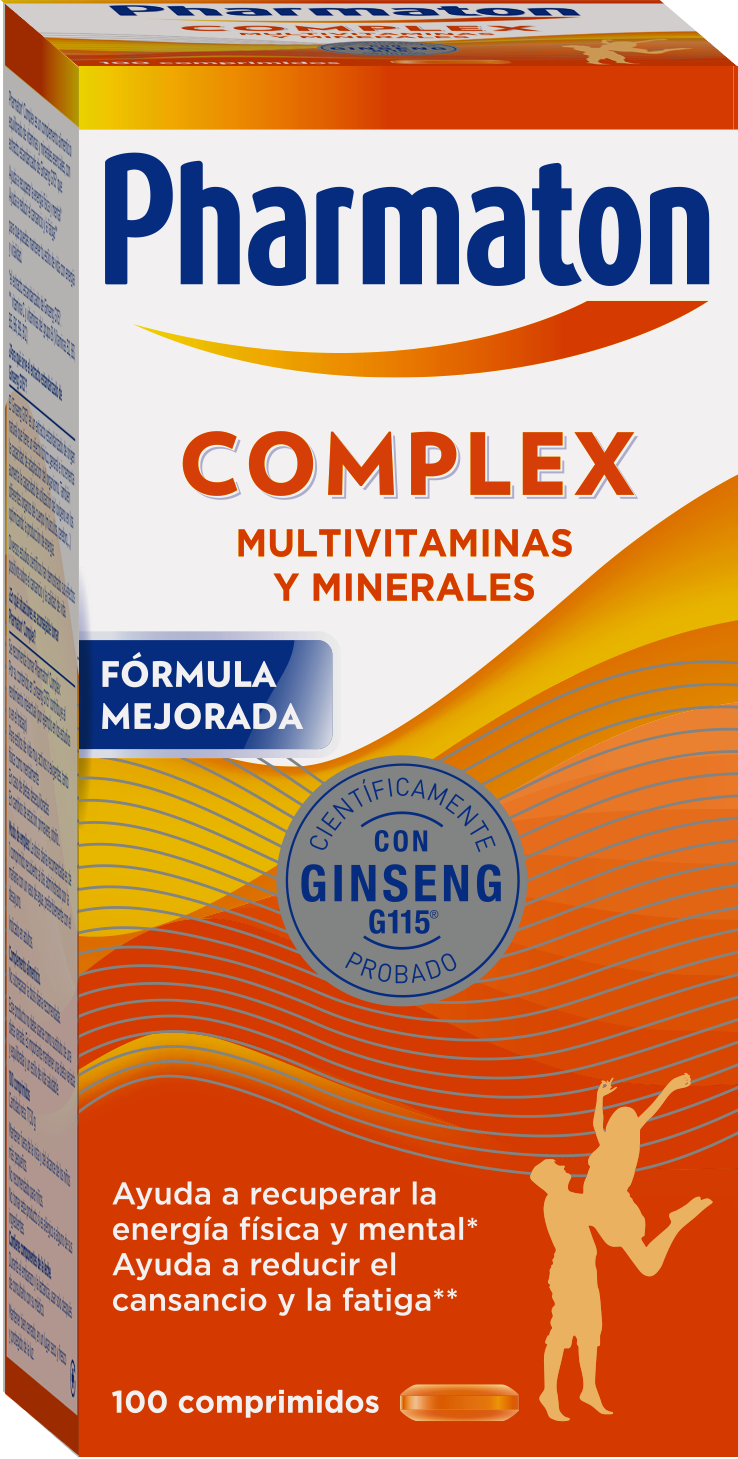 Pharmaton Complex con ginseng G115.